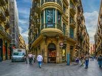 Barcelona Spanyolország belvárosában - Barcelona Spanyolország belvárosában