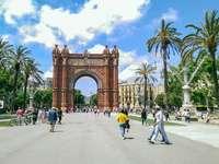 Barcelonas triumfbåge - Barcelonas triumfbåge