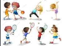 Verschillende sporten / oefeningen - Verschillende soorten sporten / oefeningen