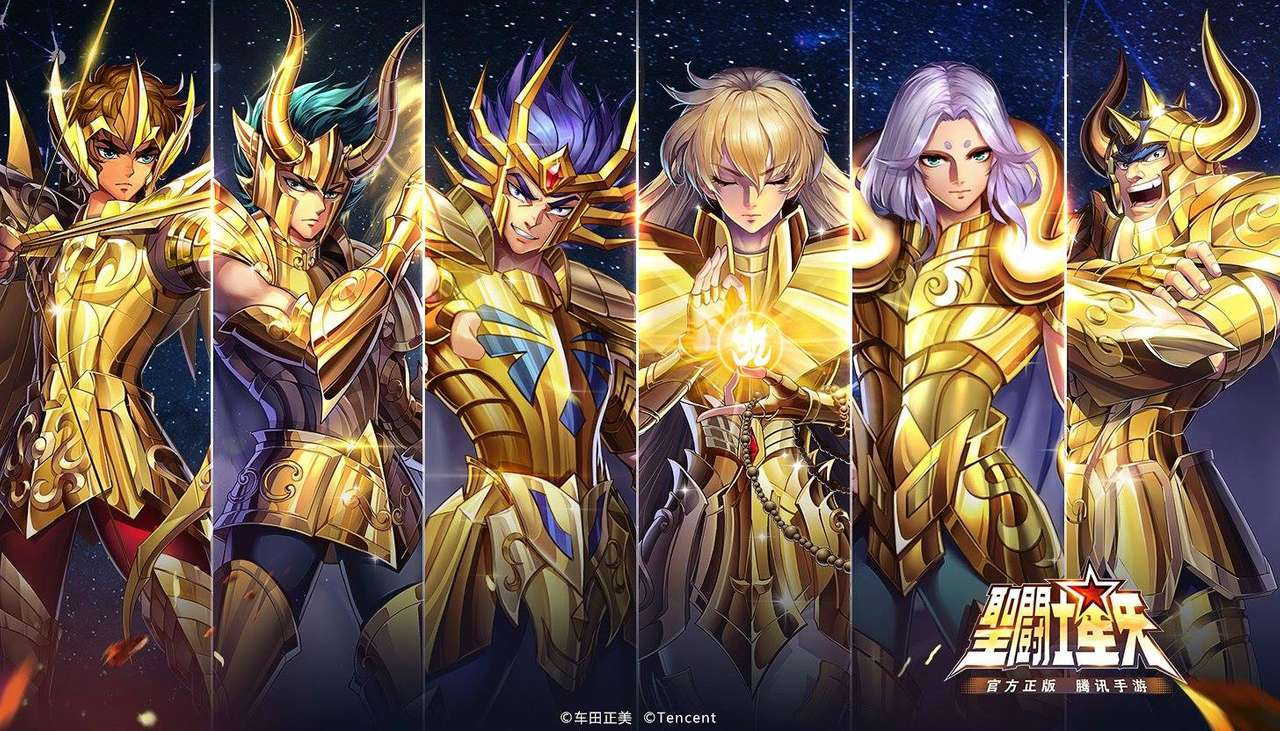 Saint Seiya Χρυσό 2 - Ayoros, Shura, Deathmask, Shaka, Mu, Aldebaran (12×7)