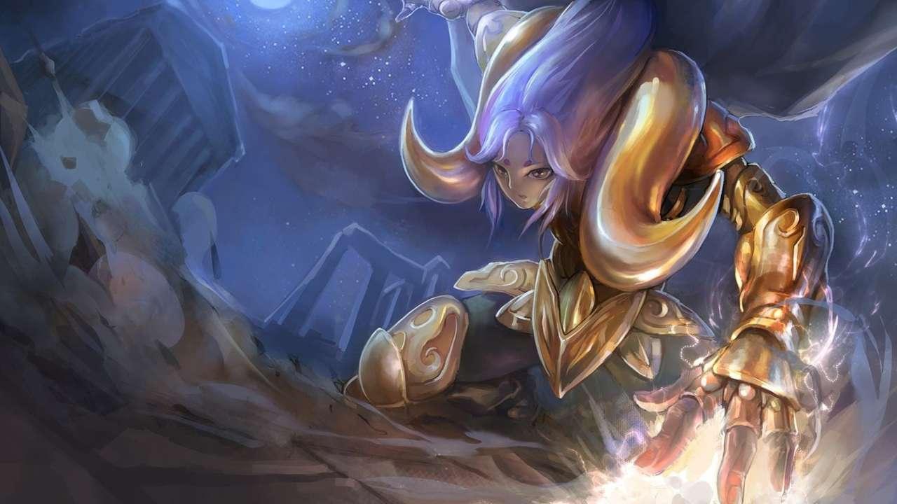 Σεν Σέια Μου - Golden Knight Aries Mu (14×8)