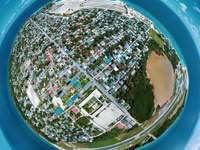 wysoki budynek w ciągu dnia - Planeta? Kulhudhuffushi, Malediwy