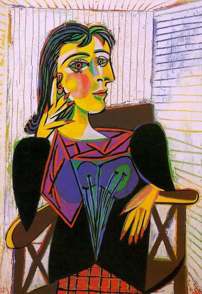 Kubistische schilder - Kubistisch schilderij van een Spaanse schilder (3×5)