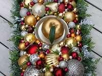 Coiffe de Noël