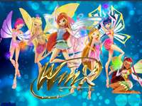 Winx Club - Winx Club Puzzle। Magic Winx Enchantix !!