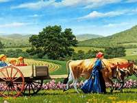 << In the countryside >>