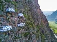 хотели на скалата в Перу