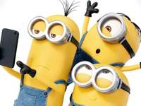 The minions - We see how the present has changed to the minions WOW