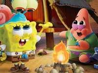 sponge Bob - Let's remember Bob in his childhood with Patrick
