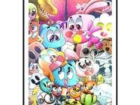 Niesamowity świat Gumballa puzzle