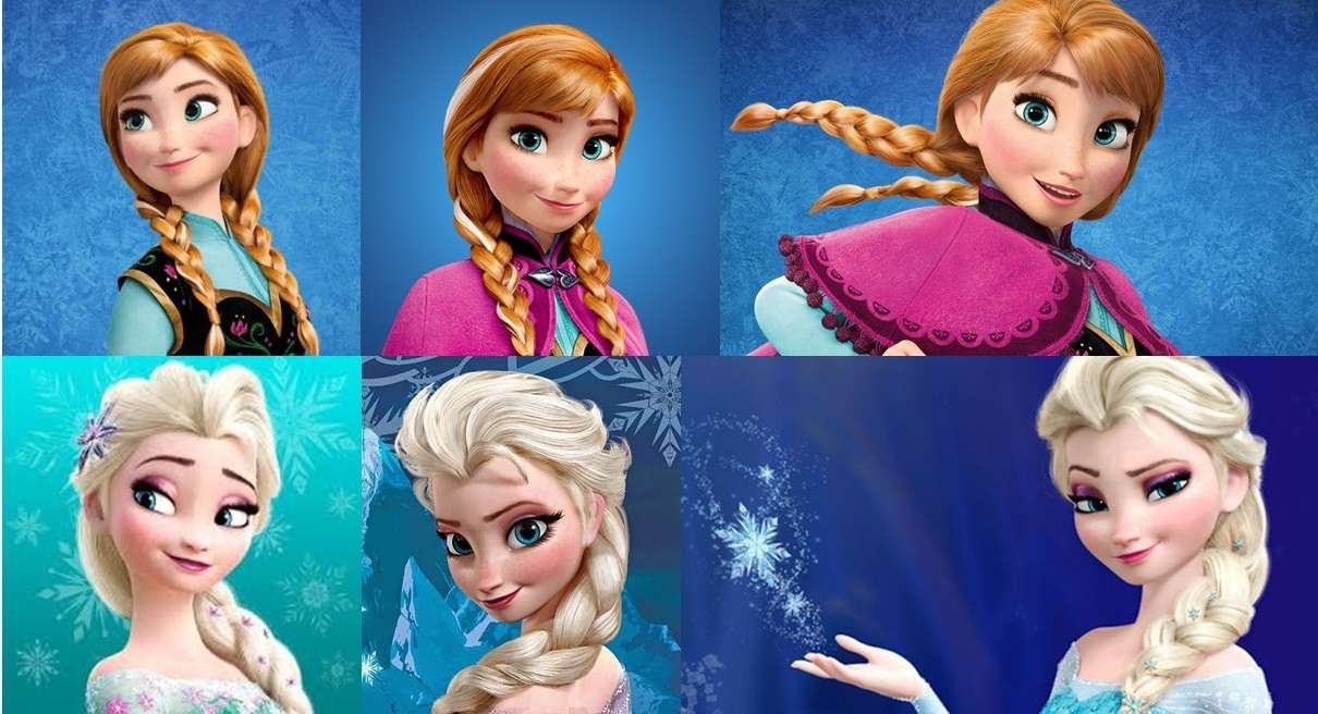 Frozen 2 Plate 12 For Children Play Jigsaw Puzzle For Free At Puzzle Factory
