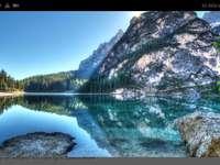 Красива гледка - Красива гледка с планини и океан