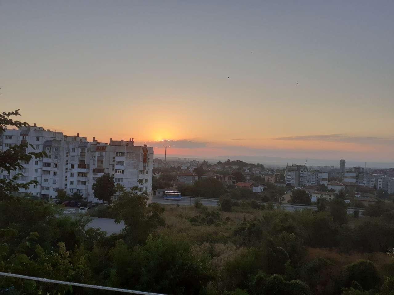 răsăritul soarelui în Shumen