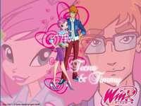 Winx Club: Tecna και Timmy - Η Tecna και ο Timmy είναι ένα ζευγάρι που εμφανίζεται στο Winx