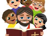 Children's Bible - When we read the Holy Scriptures, God speaks to us