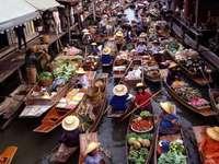 Плаващ пазар-Дамноен-Садуак-ТАЙЛАНД