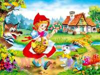 Red Riding Hood - image from the story Little Red Riding Hood
