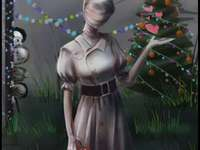 UwU Nurse Christmas - If you don't like Dead by daylight, do it otherwise the nurse will appear and get angry ÙwÚ