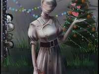 UwU-verpleegster Kerstmis