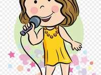 zpěvačka pro 3. ročník
