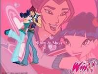 Winx Club: Musa und Riven - Musa und Riven sind ein Paar, das im Winx Club vorgestellt wird. Als eine der turbulentesten Beziehu