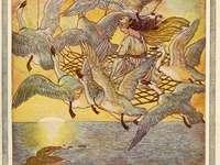 """Vilda svanar - Som en del av sagan i november inbjuder vi dig till den magiska sagan """"Vilda svanar"""" av H."""