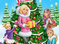 "Barbie: A Perfect Christmas - ""Join Barbie and her sisters, Skipper, Stacie and Chelsea as their holiday vacation plans turn"