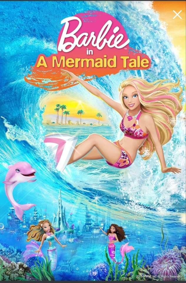 """Barbie in einer Meerjungfrauengeschichte - """"Barbie spielt Merliah, eine Surf-Championin aus Malibu. In einer Minute ist sie ein normaler Teenager und in der nächsten erfährt sie ein schockierendes Familiengeheimnis: Sie ist eine Meerjungfrau (6×10)"""
