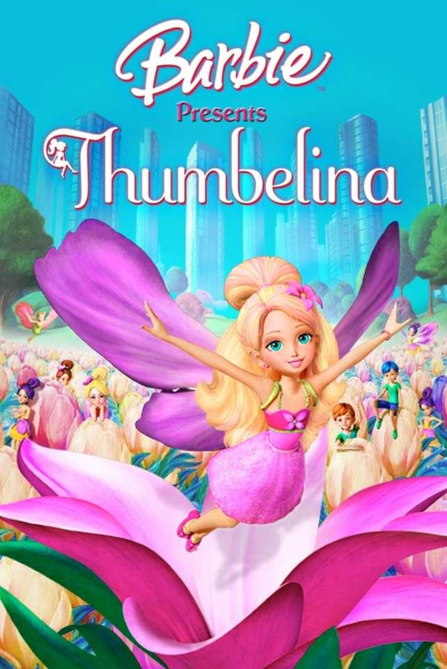 """Barbie präsentiert Däumelinchen - """"Treffen Sie ein kleines Mädchen namens Däumelinchen, das im Einklang mit der Natur in der magischen Welt der Twillerbees lebt, die unter den Wildblumen versteckt ist. Nach Lust und Laune eines verw (5×8)"""