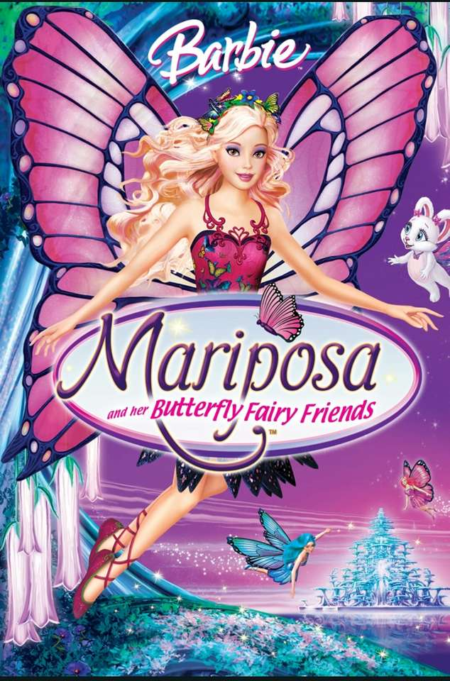 """Barbie: Mariposa und ihre Schmetterlingsfee Freunde - """"Begleite Barbie in einer brandneuen Welt der Schmetterlingsfeen! Mariposa ist eine wunderschöne Schmetterlingsfee, die es liebt, außerhalb ihres Hauses im Land Flutterfield zu lesen und von der Wel (5×8)"""