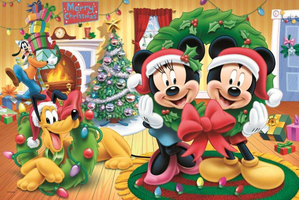 mickey mouse a Vánoce - m (11×8)