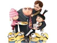 Gru and his family