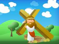 Jesus died for me - Behold the Lamb of God, who takes away the sin of the world.