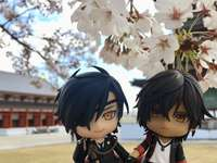Mitsutada and Ookurikara in Japan - Mitsutada and Ookurikara in Japan