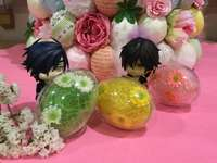 Mitsu and Ookuri present us with pretty eggs - Mitsu and Ookuri present us with cute Easter eggs
