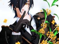 Sexy Mitsutada between the flowers - Sexy Mitsutada between the flowers