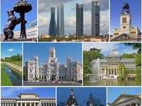Monuments de collage de Madrid