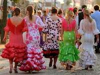 Sevilla Flamencas Spanien