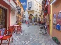 Aleea din centrul orașului Sevilla - Aleea din centrul orașului Sevilla