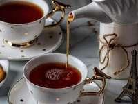 Twee kopjes thee