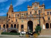 Σεβίλλη Plaza με άμαξα