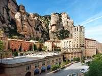 Манастирът Монсерат в Испания