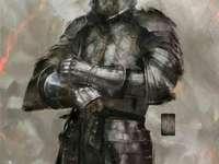 chevalier avec une épée