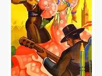 Плакат на Севиля Фламенко