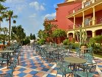 Terrazza dell'hotel Malaga - Terrazza dell'hotel Malaga