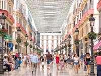 Via dello shopping di Malaga