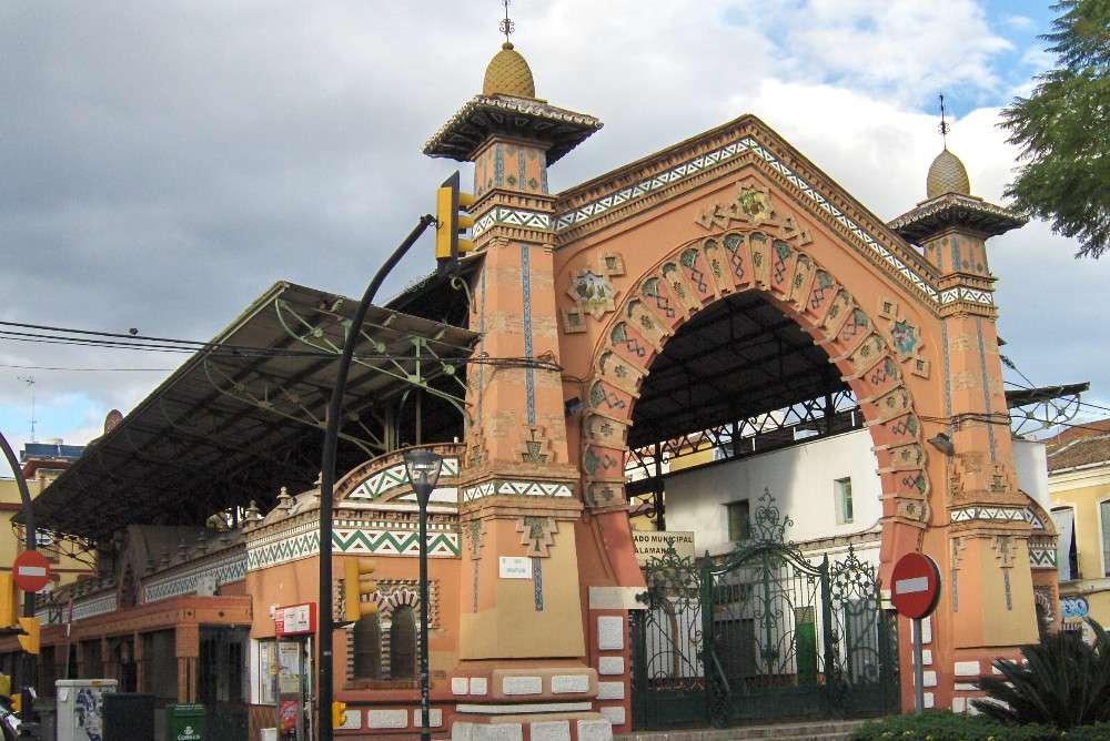 Malaga Mercado Salamanca