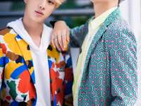 Kim Seok Jin y Kim Namjoon - Idol.