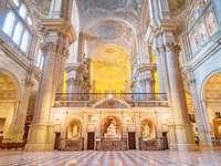 Интериор на катедралата в Малага
