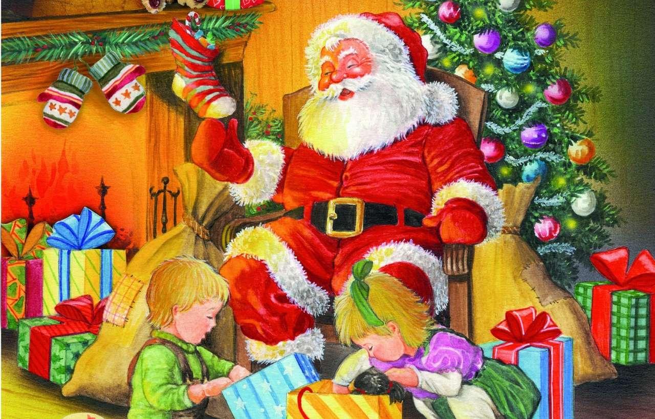 VÁNOČNÍ - Tato hádanka je od Santa Clause (7×5)
